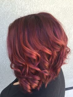 ❤️ lovin my new merlot & rosé hair.  Hair creds: Tiffany Ivey   Hair color inspiration : plum, merlot, rose gold