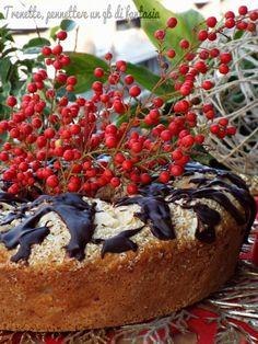Ciambella con pere, noci e cioccolato - Ricette Blogger Riunite