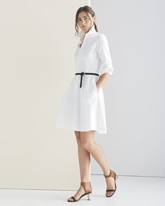 b06b37ed935f7b The Jane Shirtdress - Cut from a slightly stretchy cotton shirting, our  dress is impeccably tailored with just the right amount of polish.
