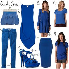 cobalt CRUSH! Just got a breezy cobalt & white tank. Fantabulous!