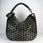 JIMMY CHOO SKY BLACK PATENT LEATHER STARS STUDS LARGE AUTHENTIC BAG $1,390 - For More Info Go To: http://www.designerhandbagspurses.net/jimmy-choo/