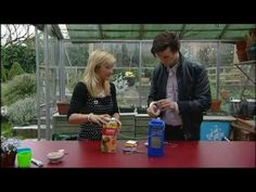 """Matt Smith (fails to) make a TARDIS bird-feeder. """"I'm very clumsy in case you haven't noticed."""""""