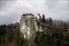 El castillo de Bled (Eslovenia)