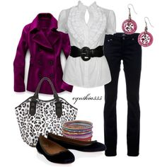 """""""Classic with a Twist"""" by cynthia335 on Polyvore"""