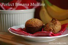 Perfect Banana Muffi