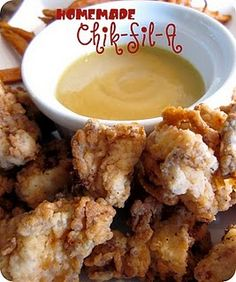 Homemade Chik-Fil-A Chicken Nuggets recipe