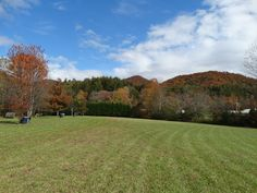 A beautiful Autumn day in the Primitive camping area.  Great for group camping!!