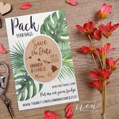Fall wedding favors Calendar Save the Date Custom wedding invitation Card for your own Save the Date Magnet Leaf Wedding Magnet