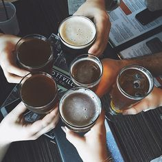 Life is BREWtiful 🍻 🤘 I hope you'll be celebrating National Beer Lovers Day the right way. Bento, Beer Photos, Beer Pics, Jessica Day, Beer Lovers, New Girl, Bartender, Craft Beer, Food Styling