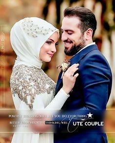 A frame photo shoot from the opening of Ece DEMİR model @ - - Muslim Wedding Dresses, Wedding Hijab, Modest Wedding, Muslimah Wedding, Cute Muslim Couples, Muslim Girls, Square Photos, Ring Verlobung, Wedding Couples