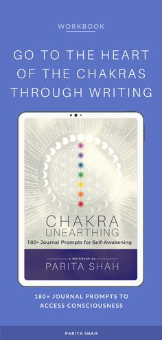 Along with 180+ journal prompts, the workbook offers an introduction to the 7 main chakras for beginners, and tips for chakra balancing. Parita shares meditation, breathing exercises, crystals, essential oils, yoga poses, lifestyle tweaks, and mindset shifts to support mind and body balance. Chakra Themes - Chakra Meaning - Chakra Imbalance - Chakra Healing - Chakra Blockage - 7 chakra meaning - How do I Balance Chakras - How to Heal Chakras - Chakra Infographic - Chakras Affirmations Root Chakra Healing, Soul Healing, Sacral Chakra, Chakra Meanings, Journaling, Chakra Affirmations, Journal Writing Prompts, Chakra Meditation, Daily Meditation