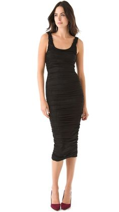 alice + olivia black dress. I've been saving for this dress for 3 months. I want it sooo bad lol.