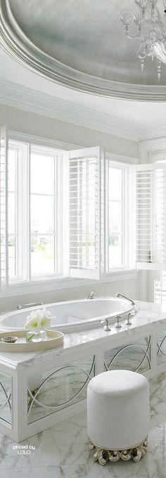 Home Decoration Inspiration Boffi, Dream Bath, Bathroom Spa, White Bathroom, Master Bathroom, White Cottage, Interior Exterior, Beautiful Bathrooms, Interiores Design