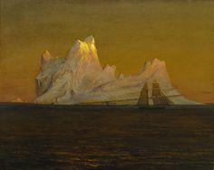 The Iceberg | L'iceberg  -    Frederic Edwin Church   1875American 1826-1900