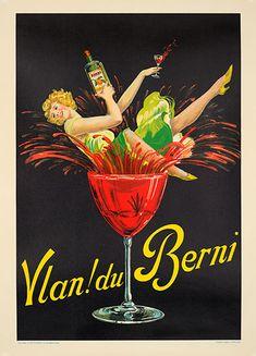 Vlan Du Berni Poster Ryckers Original Excellent A Condition 17x24 inches Linen | eBay