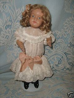 Schoenhut Wooden Doll Miss Dolly 15 inches tall (Incised mark on back) | eBay
