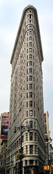 Flatiron Building in NYC- my grandmother's favorite building