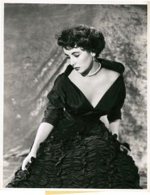 """Elizabeth Taylor in """"A Place in the Sun"""" by A. L. Whitey Schafer (Paramount, 1951). Portrait Still (10"""" X 13"""").. ... (Total: 1 Item)"""