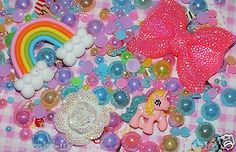 #Candycabsuk pink pony rainbow phone case diy mini kit cabochon #mixed #pearls,  View more on the LINK: http://www.zeppy.io/product/gb/2/111748087384/