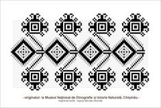 motive populare romanesti - Google Search Folk Embroidery, Learn Embroidery, Embroidery Stitches, Embroidery Patterns, Cross Stitch Patterns, Knitting Patterns, Palestinian Embroidery, Hobbies And Crafts, Folk Art