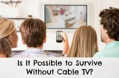 52 Different Ways to Save $100 This Year: Ditch Your Cable Package {Week 3}   Money Saving Mom®