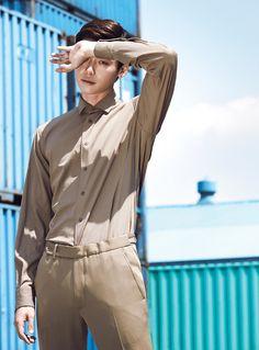 Lee Jong Suk High Cut Magazine Vol.108