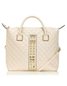 The new Kardashian Qulted Studded Shopper in ivory is coming to Lipsy London in two weeks! Available for pre order now! Shop this bag and more at Lipsy.co.uk/Kardashian