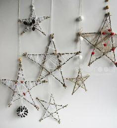 Звезды из веток