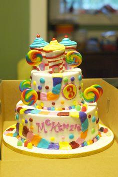 Candy Land cake.