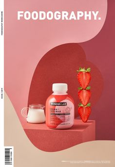 WONDER:LAB ✖ foodography on Behance Shape Photography, Home Studio Photography, Object Photography, Food Photography Tips, Food Graphic Design, Food Poster Design, Menu Design, Food Design, Juice Packaging