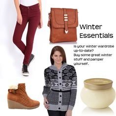 Winter Essentials > http://faborskip.com/post/104748596309/winter-essentials-buy-sweater   Is your winter wardrobe up-to-date? Buy some great winter stuff and pamper yourself.