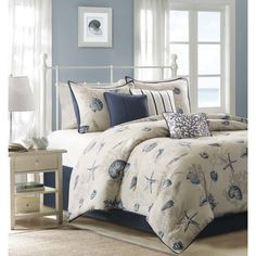 Found it at Joss & Main - 7-Piece Sutherland Cotton Comforter Set