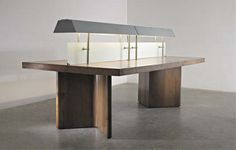 PHILLIPS : NY050108, PIERRE JEANNERET, Illuminated library table, from Chandigarh, India
