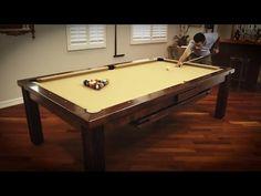 Billiard dining table Pronto   Bilijardai & Canada Billiard La Condo Evolution Pool Table (high-gloss \