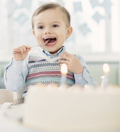 New photos of Prince Oscar released on his 2nd birthday