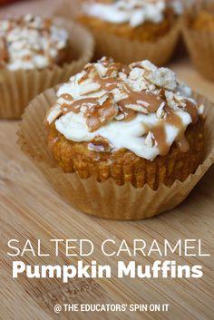 Salted Caramel Pumpkin Muffins Recipe