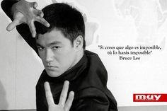 Aquí encontrarás 6 grandes frases de Bruce Lee: http://www.muyinteresante.es/cultura/arte-cultura/articulo/seis-grandes-frases-de-bruce-lee #quotes #frases