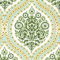 Pierre, Marseille  Possibly for my dining room curtains with yellow plates and light blue plates on a gray wall