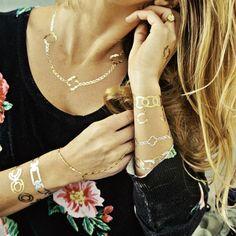 Flash Tattoos-- Temporary, Jewelry Inspired Tattoos!