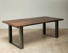 Bold Modern Reclaimed Iron & Wood 'Mt Whitney' by Blakeavenue