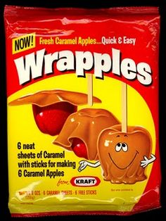 Wrapples - Never tried them but I remember them