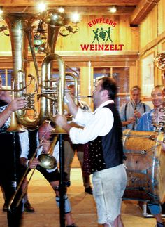 Blechblosn Band @ Weinzelt @ Oktoberfest @ Munich