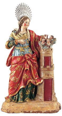 Arte e Religião: 4 de Dezembro - Santa Bárbara (Mártir)