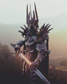 Sauron - Top 500 Best Tattoo Ideas And Designs For Men and Women Jrr Tolkien, Fantasy Armor, Dark Fantasy Art, Films Western, Lord Of The Rings Tattoo, Inspiration Drawing, John Howe, Shadow Of Mordor, Beau Film