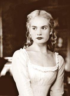 Lily as Cinderella