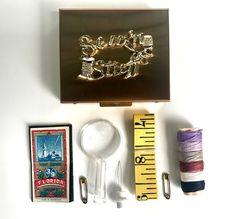 Vintage Sewing Kit Compact Sew'n Stuff Mini Travel Kit | Etsy