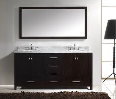 Virtu USA GD-50072-WMSQ-ES Caroline Avenue 72-Inch Bathroom Vanity with Double Square Sinks in Espresso and Italian Carrara White Marble Virtu USA,http://www.amazon.com/dp/B00BJO879M/ref=cm_sw_r_pi_dp_H3VGsb0KKAHH72WK