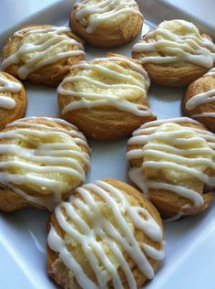 Individual Cream Cheese Danish from Food.com: Small danishes that make a great addition to a brunch buffet. You can also make fruit and cream cheese danishes by adding a spoonful of your favorite pie filling prior to baking. There are never any leftovers when I make these.