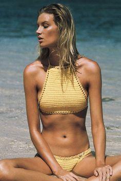 She Made Me Halter bikini #soleilblue