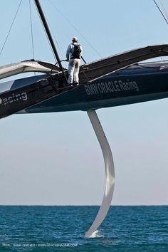 AC 33 BOR BMW Oracle BMW Oracle Racing Jimmy Spithill Trimaran Sailing DOG DOGZilla Technology Ocean